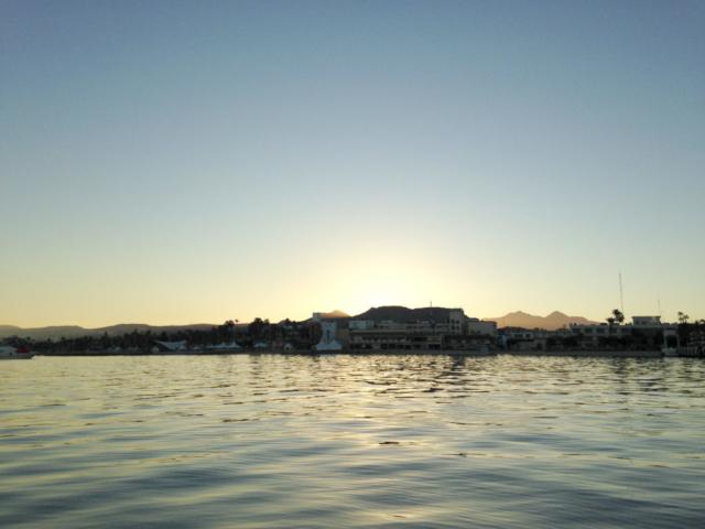 Sunup in La Paz